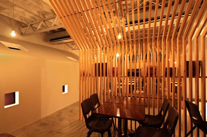 Ресторан Hanafarm от студии GreenBlue