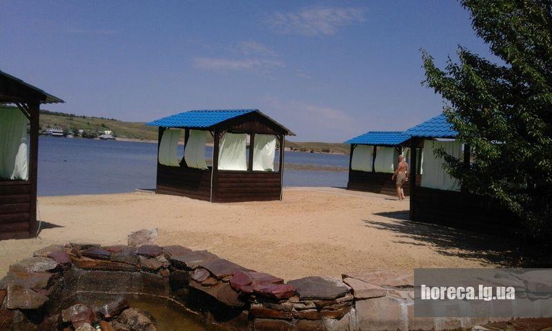 Крым пляж Успенка